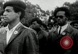 Image of Black Panther Party march and demonstration Oakland California USA, 1968, second 1 stock footage video 65675029943