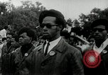 Image of Black Panther Party march and demonstration Oakland California USA, 1968, second 3 stock footage video 65675029943