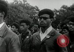 Image of Black Panther Party march and demonstration Oakland California USA, 1968, second 5 stock footage video 65675029943