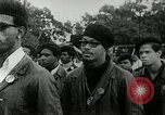 Image of Black Panther Party march and demonstration Oakland California USA, 1968, second 7 stock footage video 65675029943