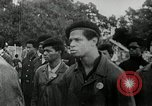 Image of Black Panther Party march and demonstration Oakland California USA, 1968, second 11 stock footage video 65675029943