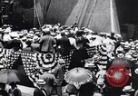 Image of Launch of USS Arizona BB-39 Brooklyn New York City USA, 1915, second 11 stock footage video 65675029963