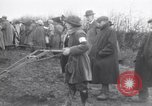 Image of women plough Surrey England, 1915, second 3 stock footage video 65675029966