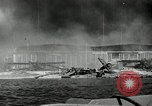 Image of wrecked planes Pearl Harbor Hawaii USA, 1941, second 3 stock footage video 65675029980