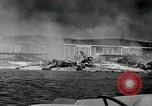 Image of wrecked planes Pearl Harbor Hawaii USA, 1941, second 4 stock footage video 65675029980