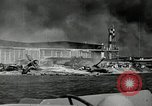 Image of wrecked planes Pearl Harbor Hawaii USA, 1941, second 6 stock footage video 65675029980