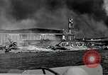 Image of wrecked planes Pearl Harbor Hawaii USA, 1941, second 7 stock footage video 65675029980