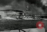 Image of wrecked planes Pearl Harbor Hawaii, 1941, second 9 stock footage video 65675029980