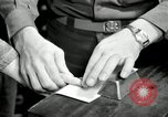 Image of fingerprint detection United States USA, 1942, second 11 stock footage video 65675029982