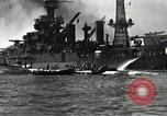 Image of attack on Pearl Harbor Pearl Harbor Hawaii USA, 1941, second 10 stock footage video 65675029992