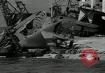 Image of Hickham Field wreckage World War 2 Pearl Harbor Hawaii USA, 1941, second 10 stock footage video 65675029993