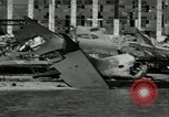 Image of Hickham Field wreckage World War 2 Pearl Harbor Hawaii USA, 1941, second 12 stock footage video 65675029993