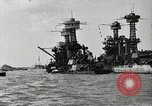 Image of Repairs undertaken after Pearl Harbor attack Pearl Harbor Hawaii USA, 1941, second 1 stock footage video 65675029994