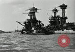 Image of Repairs undertaken after Pearl Harbor attack Pearl Harbor Hawaii USA, 1941, second 2 stock footage video 65675029994