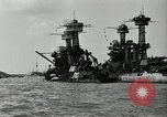 Image of Repairs undertaken after Pearl Harbor attack Pearl Harbor Hawaii USA, 1941, second 3 stock footage video 65675029994
