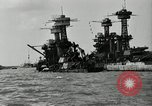 Image of Repairs undertaken after Pearl Harbor attack Pearl Harbor Hawaii USA, 1941, second 4 stock footage video 65675029994