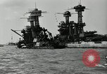 Image of Repairs undertaken after Pearl Harbor attack Pearl Harbor Hawaii USA, 1941, second 5 stock footage video 65675029994