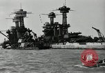 Image of Repairs undertaken after Pearl Harbor attack Pearl Harbor Hawaii USA, 1941, second 6 stock footage video 65675029994