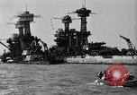 Image of Repairs undertaken after Pearl Harbor attack Pearl Harbor Hawaii USA, 1941, second 7 stock footage video 65675029994