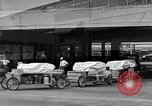 Image of food service wagons Dearborn Michigan USA, 1946, second 8 stock footage video 65675030014