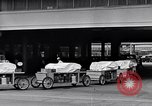 Image of food service wagons Dearborn Michigan USA, 1946, second 10 stock footage video 65675030014