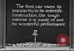 Image of Ford car tested United States USA, 1923, second 2 stock footage video 65675030028