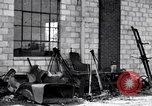 Image of messy garage Michigan United States USA, 1927, second 1 stock footage video 65675030031