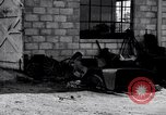 Image of messy garage Michigan United States USA, 1927, second 2 stock footage video 65675030031
