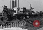 Image of Ford River Rouge Plant raw material storage Dearborn Michigan USA, 1927, second 3 stock footage video 65675030033