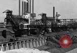 Image of Ford River Rouge Plant raw material storage Dearborn Michigan USA, 1927, second 6 stock footage video 65675030033