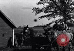 Image of horse drawn tank wagon Dearborn Michigan USA, 1922, second 8 stock footage video 65675030054