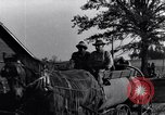 Image of horse drawn tank wagon Dearborn Michigan USA, 1922, second 10 stock footage video 65675030054
