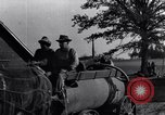 Image of horse drawn tank wagon Dearborn Michigan USA, 1922, second 11 stock footage video 65675030054