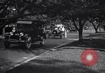 Image of caravan of Ford vehicles Detroit Michigan USA, 1926, second 4 stock footage video 65675030058