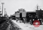 Image of caravan of Ford vehicles Detroit Michigan USA, 1926, second 11 stock footage video 65675030058
