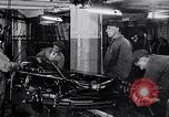 Image of final assembly line Detroit Michigan USA, 1929, second 3 stock footage video 65675030070