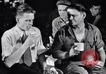 Image of workers have lunch Detroit Michigan USA, 1952, second 9 stock footage video 65675030075