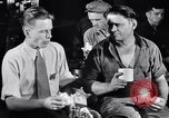 Image of workers have lunch Detroit Michigan USA, 1952, second 11 stock footage video 65675030075