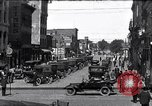 Image of vehicular traffic Detroit Michigan USA, 1929, second 1 stock footage video 65675030094