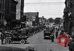 Image of vehicular traffic Detroit Michigan USA, 1929, second 2 stock footage video 65675030094