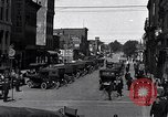 Image of vehicular traffic Detroit Michigan USA, 1929, second 3 stock footage video 65675030094
