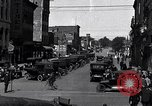 Image of vehicular traffic Detroit Michigan USA, 1929, second 4 stock footage video 65675030094