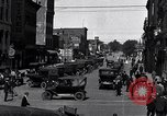 Image of vehicular traffic Detroit Michigan USA, 1929, second 5 stock footage video 65675030094