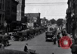 Image of vehicular traffic Detroit Michigan USA, 1929, second 6 stock footage video 65675030094