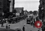 Image of vehicular traffic Detroit Michigan USA, 1929, second 7 stock footage video 65675030094