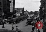 Image of vehicular traffic Detroit Michigan USA, 1929, second 8 stock footage video 65675030094