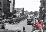 Image of vehicular traffic Detroit Michigan USA, 1929, second 10 stock footage video 65675030094