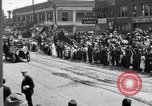 Image of President Wilson's motorcade Highland Park Michigan USA, 1916, second 3 stock footage video 65675030101