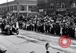 Image of President Wilson's motorcade Highland Park Michigan USA, 1916, second 5 stock footage video 65675030101