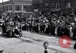 Image of President Wilson's motorcade Highland Park Michigan USA, 1916, second 6 stock footage video 65675030101